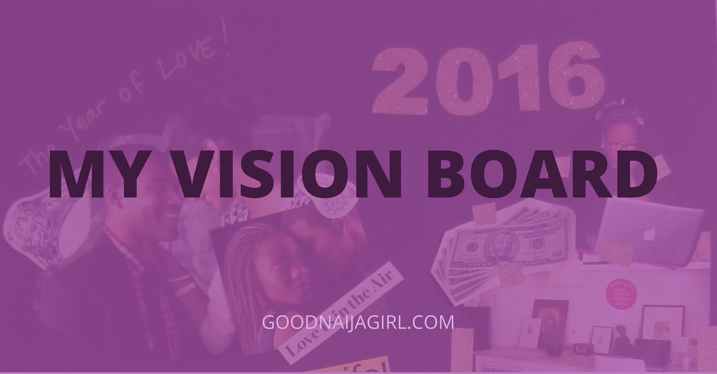Jummy's vision board cover image